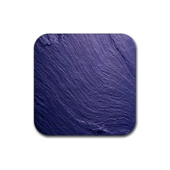 Textura Stone Rubber Square Coaster (4 Pack)  by AnjaniArt
