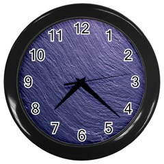 Textura Stone Wall Clocks (black)