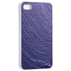 Textura Stone Apple Iphone 4/4s Seamless Case (white) by AnjaniArt