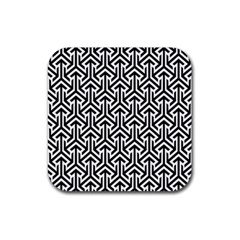 Tramas On Pinterest Geometric Patterns Rubber Square Coaster (4 Pack)
