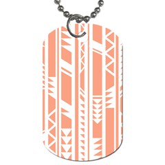 Tribal Pattern Dog Tag (two Sides) by AnjaniArt