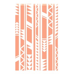 Tribal Pattern Shower Curtain 48  X 72  (small)  by AnjaniArt