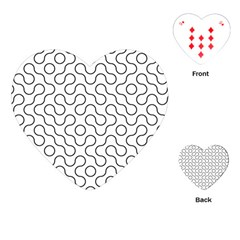Truchet Tiling Playing Cards (heart)