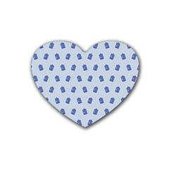 Tumblr Cute Tardis Heart Coaster (4 Pack)