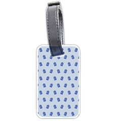 Tumblr Cute Tardis Luggage Tags (two Sides) by AnjaniArt