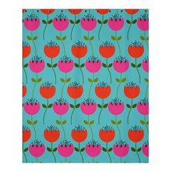 Tulips Floral Flower Shower Curtain 60  X 72  (medium)  by AnjaniArt