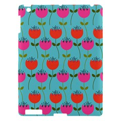 Tulips Floral Flower Apple Ipad 3/4 Hardshell Case by AnjaniArt