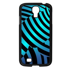 Turtle Swimming Black Blue Sea Samsung Galaxy S4 I9500/ I9505 Case (black) by AnjaniArt