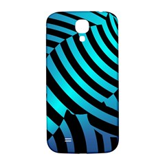 Turtle Swimming Black Blue Sea Samsung Galaxy S4 I9500/i9505  Hardshell Back Case by AnjaniArt