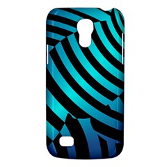 Turtle Swimming Black Blue Sea Galaxy S4 Mini by AnjaniArt