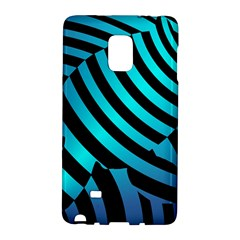 Turtle Swimming Black Blue Sea Galaxy Note Edge by AnjaniArt