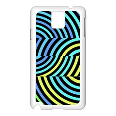 Twin Tunnels Visual Illusion Casino Art Samsung Galaxy Note 3 N9005 Case (white)