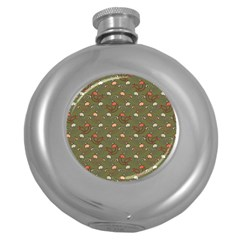 Tumblr Static Final Colour Round Hip Flask (5 Oz)