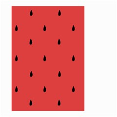 Watermelon Seeds Red Small Garden Flag (two Sides)