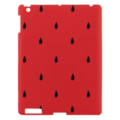 Watermelon Seeds Red Apple Ipad 3/4 Hardshell Case by AnjaniArt