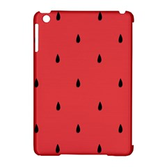Watermelon Seeds Red Apple Ipad Mini Hardshell Case (compatible With Smart Cover)