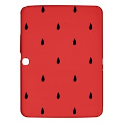Watermelon Seeds Red Samsung Galaxy Tab 3 (10 1 ) P5200 Hardshell Case