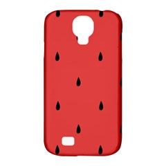 Watermelon Seeds Red Samsung Galaxy S4 Classic Hardshell Case (pc+silicone)