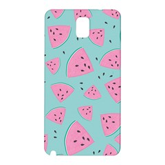 Watermelon Red Blue Samsung Galaxy Note 3 N9005 Hardshell Back Case