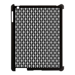 Webbing Woven Bamboo Apple Ipad 3/4 Case (black)