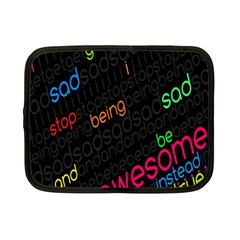Words Jpeg Netbook Case (small)