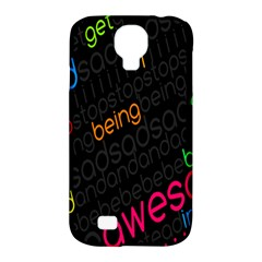 Words Jpeg Samsung Galaxy S4 Classic Hardshell Case (pc+silicone)