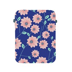 Seamless Blue Floral Apple Ipad 2/3/4 Protective Soft Cases