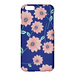 Seamless Blue Floral Apple Iphone 6 Plus/6s Plus Hardshell Case
