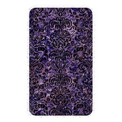 Damask2 Black Marble & Purple Marble (r) Memory Card Reader (rectangular) by trendistuff