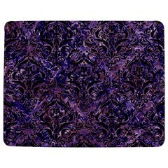 Damask1 Black Marble & Purple Marble (r) Jigsaw Puzzle Photo Stand (rectangular) by trendistuff