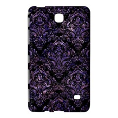 Damask1 Black Marble & Purple Marble Samsung Galaxy Tab 4 (7 ) Hardshell Case  by trendistuff