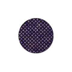 Circles3 Black Marble & Purple Marble (r) Golf Ball Marker (10 Pack) by trendistuff
