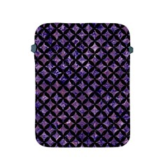 Circles3 Black Marble & Purple Marble (r) Apple Ipad 2/3/4 Protective Soft Case by trendistuff