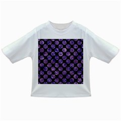 Circles2 Black Marble & Purple Marble Infant/toddler T Shirt