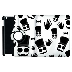 Gentleman Pattern Apple Ipad 3/4 Flip 360 Case by Valentinaart