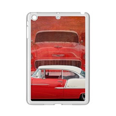 Classic Car Chevy Bel Air Dodge Red White Vintage Photography Ipad Mini 2 Enamel Coated Cases by yoursparklingshop
