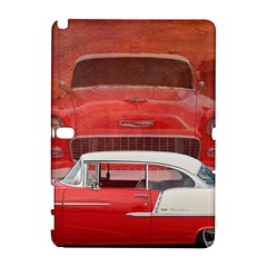 Classic Car Chevy Bel Air Dodge Red White Vintage Photography Galaxy Note 1 by yoursparklingshop