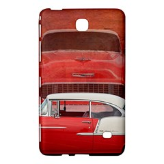 Classic Car Chevy Bel Air Dodge Red White Vintage Photography Samsung Galaxy Tab 4 (7 ) Hardshell Case