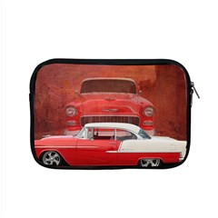Classic Car Chevy Bel Air Dodge Red White Vintage Photography Apple Macbook Pro 15  Zipper Case