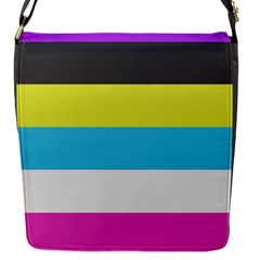 Bigender Flag Copy Flap Messenger Bag (s) by Jojostore