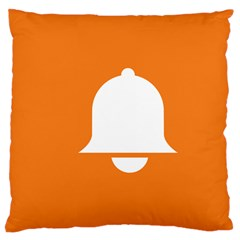 Bell Orange Copy Large Cushion Case (one Side) by Jojostore