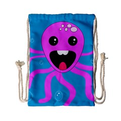 Bubble Octopus Copy Drawstring Bag (small)