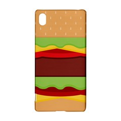 Cake Cute Burger Copy Sony Xperia Z3+ by Jojostore