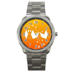 Cute Orange Copy Sport Metal Watch by Jojostore