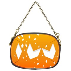 Cute Orange Copy Chain Purses (one Side)  by Jojostore