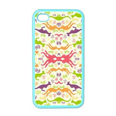 Kangaroo Apple Iphone 4 Case (color)