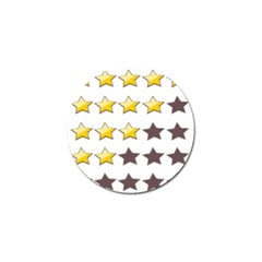 Star Rating Copy Golf Ball Marker