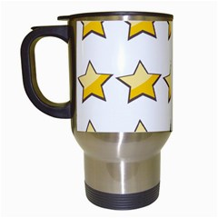 Star Rating Copy Travel Mugs (white)