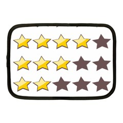 Star Rating Copy Netbook Case (medium)  by Jojostore