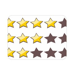 Star Rating Copy Double Sided Flano Blanket (mini)